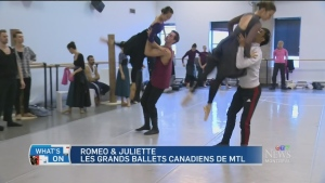 Les Grands Ballets performs Shakespeare, Two Lover