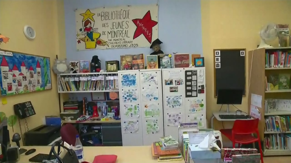 The Montreal Children's Library in the Tyndale St. Georges Community Centre will remain open until December.