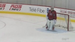 Carey Price on the ice for a practice on Oct. 20, 2016