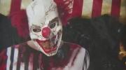 Creepy clown mask