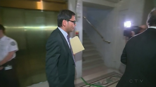 Gerry Sklavounos walks through the National Assembly in this file photo