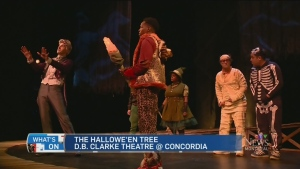 CTV Montreal: What's On: Kid-con, Hallowe'en tree