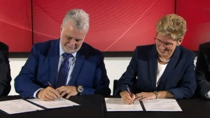 Hydro deal signed between Ontario, Quebec