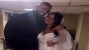 Drake shows up at Windsor wedding