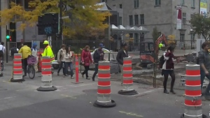 CTV Montreal: Work makes McGill inaccessible