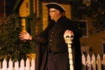 In this Oct. 5, 2013 file photo, Newfoundland actor Steve O'Connell leads a haunted hike through historic St. John's, N.L. (Mike Wert)