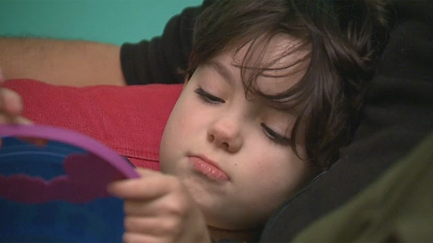 Charlotte Kuhn, five years old, has autism and does not speak (Oct. 25, 2016)