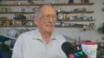 Saskatoon plumber, 92, enters record books
