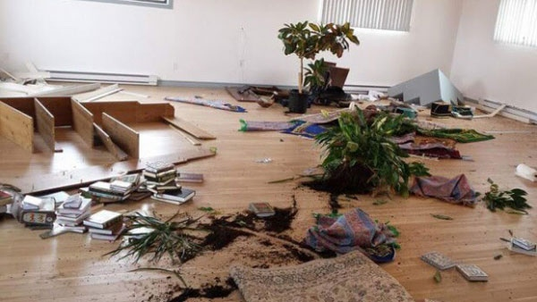 Man, 38, arrested after Sept-Iles Muslim cultural centre ransacked - CTV News