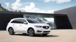 The 2017 Acura MDX. (Honda via AP)