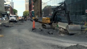 Montreal has been subject to lots of roadwork, but much more is coming