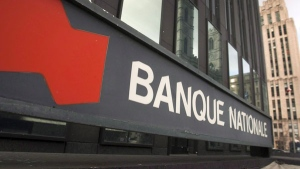 A branch of the National Bank is shown on December 8, 2011, in Montreal. (Ryan Remiorz / THE CANADIAN PRESS)