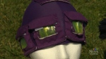 A 15-year-old Nova Scotia girl has created a cap,