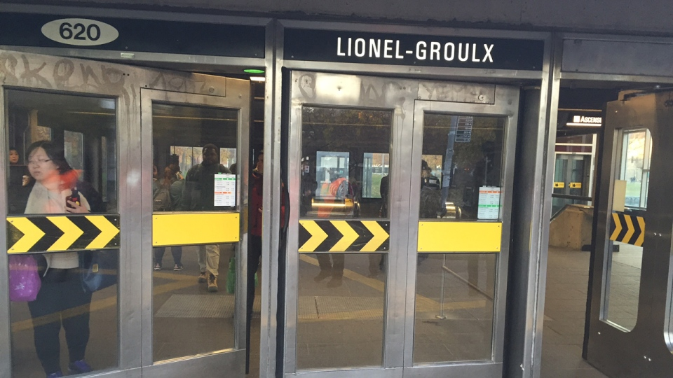 Lionel Groulx metro station