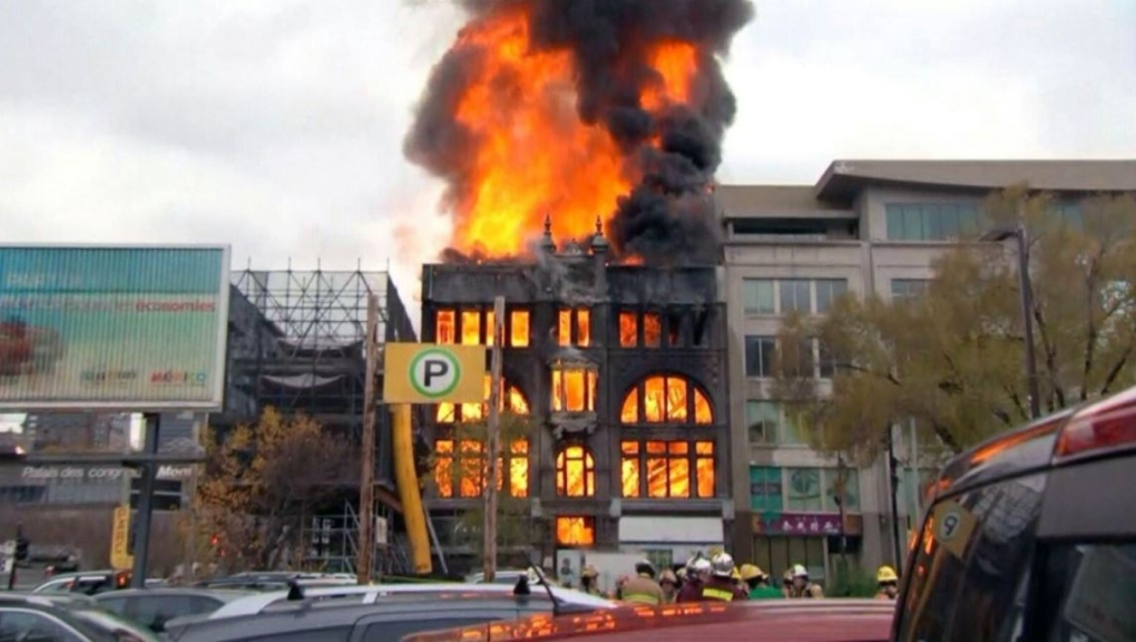 in pictures chinatown fire ctv montreal news