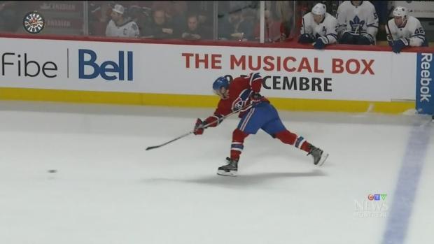 Three Canadiens have scored 7 goals this season: Alex Galchenyuk, Shea Weber, and Paul Byron