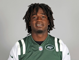 This is a 2013 file photo showing New York Jets running back Joe McKnight. (AP Photo)
