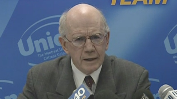 In 2005 Warren Allmand joined municipal politics as a member of Gerald Tremblay's Union Montreal