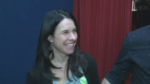 Valerie Plante has been elected the new leader of Projet Montreal.