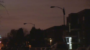 Six streets in Verdun have been without street lamps for 10 days and residents are worried what that could mean for the elderly once the snow begins to fall in earnest.