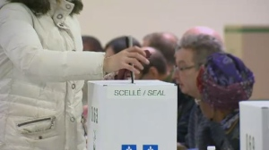 Four by-elections were held in Quebec Monday night. The seats remained unchanged.