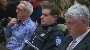 Police from Station 15 told citizens at the council meeting that three arrests have been made.