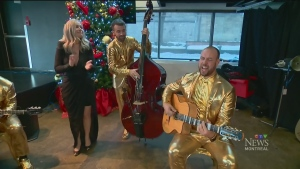 The Lost Fingers play Django Reinhardt-inspired Christmas tunes
