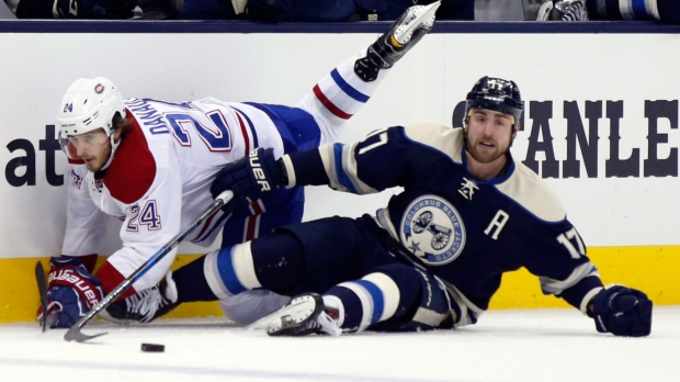 Hartnell nets hat trick as Blue Jackets top Penguins, win 11th straight
