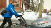 CTV Ottawa: Stand-off between cyclist and driver