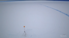 Crack in ice closes Antarctic research station