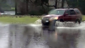 Heavy rain causing flooding concerns