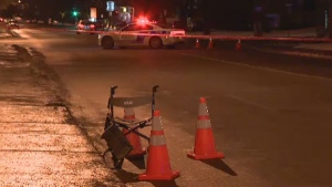 An 89-year-old man was killed after being struck by a car in NDG on Friday night.