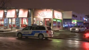A 22-year-old man is in hospital after being stabbed in Lasalle on Friday night.