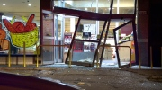 The thieves stole an ATM from a food market in Cartierville (photo: CTV Montreal / Cosmo Santamaria)