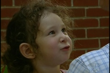 Three-year-old Elizabeth Blais spent 24 hours in hospital after nibbling on a poisonous mushroom(July 28, 2009)
