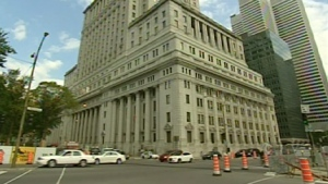 Structures under some buildings in Montreal's downtown core are being inspected.