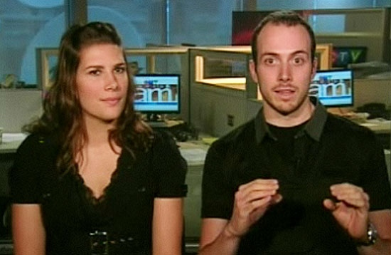 Olivier Cloutier and Marie-Eve Hebert.
