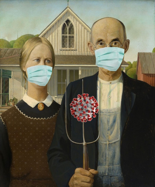 Marc-Andre Pijet's American Gothic