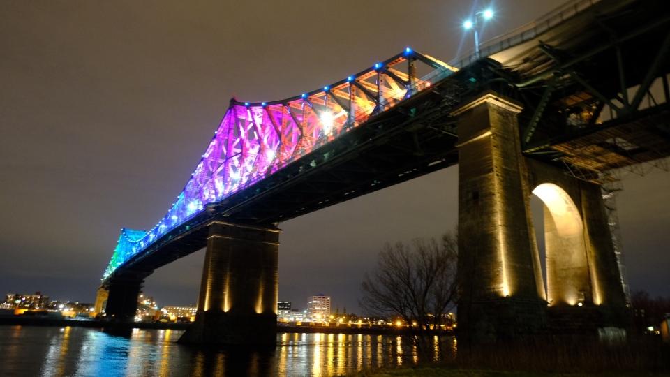 Jembatan Jacques Cartier selama pandemi