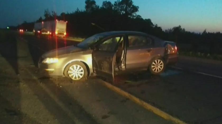 Amber alert after car crash near Quebec City