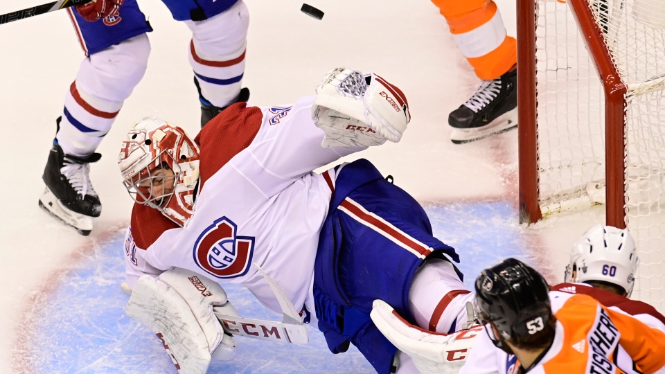 Carey Price gets the playoff shutout