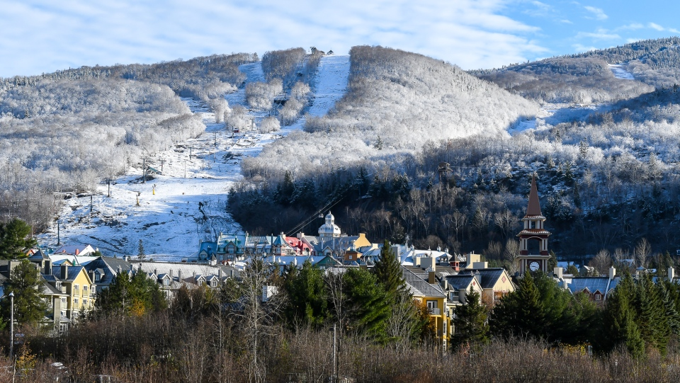 Snow in Mt. Tremblant