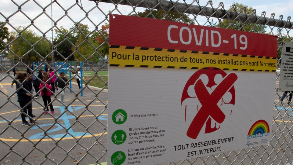 COVID-19 cases in Quebec schools increasing