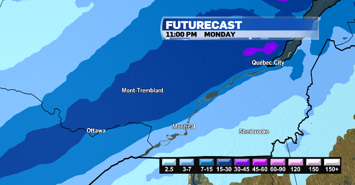 Tremblant to get some snow