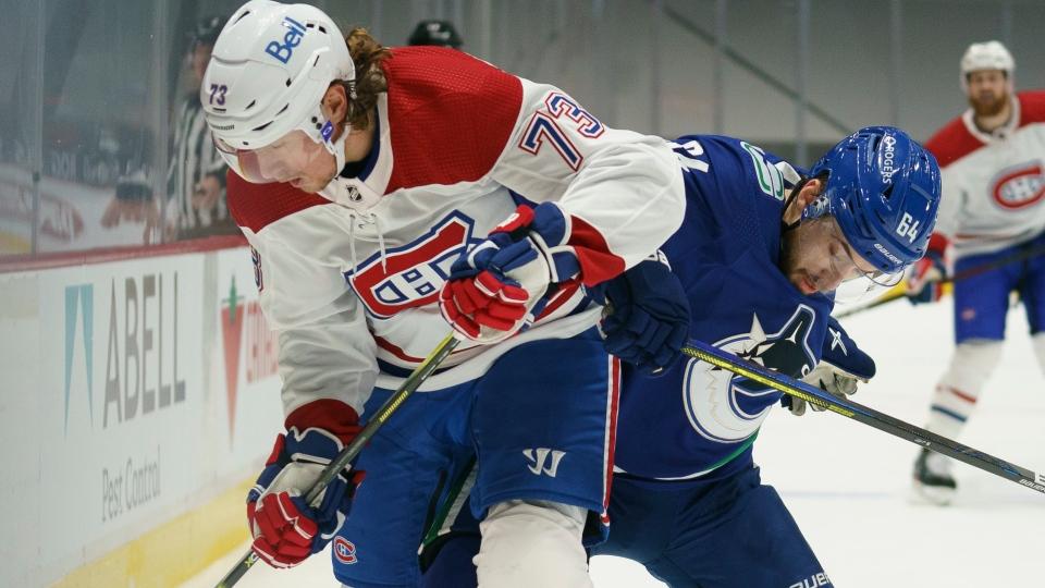 Canadiens keep rolling, top Flames in home opener