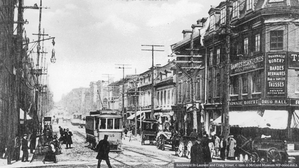St-Laurent and St. Antoine, c. 1910