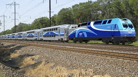 AMT double decker cars