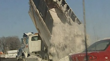 Montreal snow truck