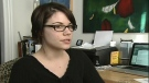 Concordia student Melissa Sauve ran into issues when she had to leave France, but continued to receive a bursary (March 1, 2010)
