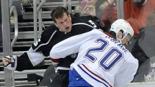 The Ryan O�Byrne-Rich Clune fight
